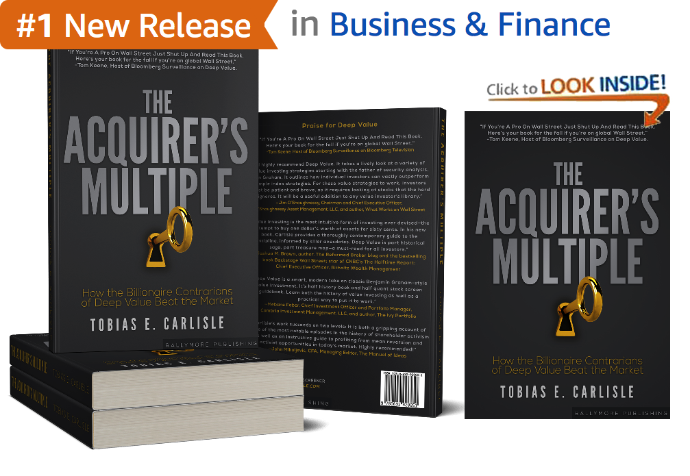 Stock Screener - The Acquirer's Multiple®
