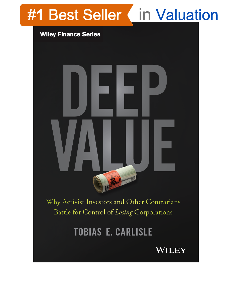 Deep Value: Amazon #1 Best Seller in Valuation