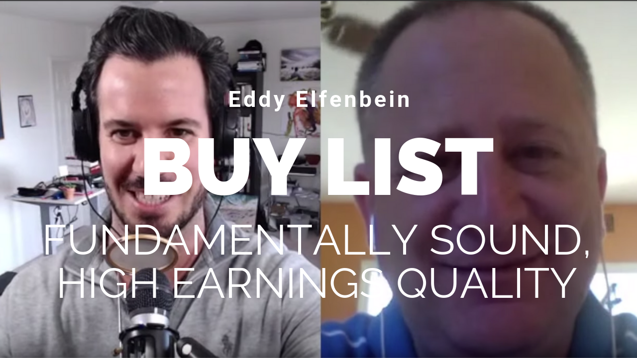 Ep 23) The Acquirers Podcast: Eddy Elfenbein - Buy List